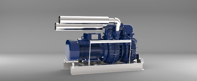 Submersible motor compressors